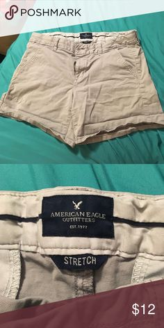 American eagle khaki shorts Great condition! Worn about 5 times Shorts