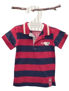 This classic baby boy polo t-shirt is perfect for running around in the garden and playing at the park all summer long. This lovely classic baby boy t-shirt is made from 100% organic cotton to ensure it is practical and comfortable.