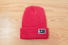 The Beard Collective - Flag - Hot Pink Cuff Beanie