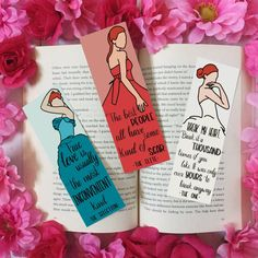Creative Bookmarks, Cute Bookmarks, Bookmark Craft, Bookmarks For Books, La Sélection Kiera Cass, The Selection Book, Book Markers, Ideias Diy, Book Worms
