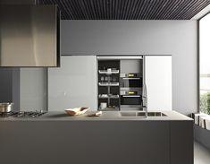 Cucine moderne che uniscono design, funzionalità e qualità dei ...