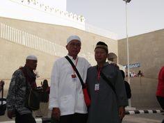 Halaman Masjid Quba di Madinah
