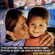 """""""Anne gezindiğin bağ, baba yaslandığın dağdır. Ömrünün en güzel çağı anne ve babanla olandır."""" #AtaolBehramoğlu #birsözepikse #özlüsözler #anlamlısözler #güzelsözler #gününsözü #edebiyat #felsefe #siirsokakta #şiirsokakta"""