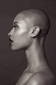 Shaved head love!