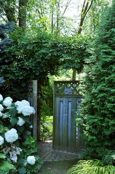 Another inviting garden gate
