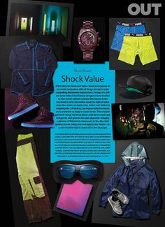 Mood Board: Shock Value | Out Magazine
