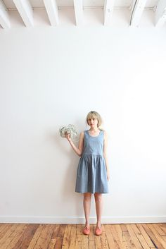 marseille dress - chambray