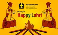 #moonlight Wishes u Very #happylohri Visit our Hotel:https://goo.gl/WdGNgr