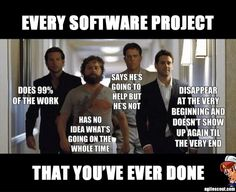 Every Software Project That You've Ever Done