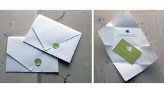 Envelope & invitation in one.
