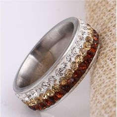 Cocktail & Mocktail Rings CZ Crystals With Ombre Effect    #Jewelry #Fashion #NewItems