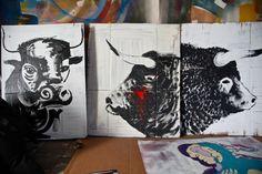 Artists studio Alvaro Sotomayor