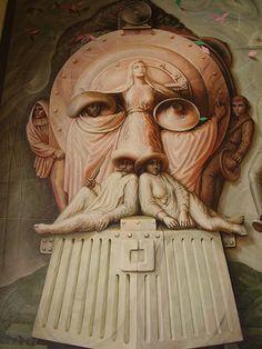Mural - Octavio Ocampo