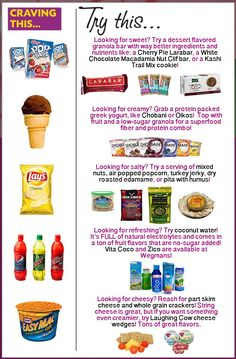 Eat This Not That: College Snack Edition from Healthy Helper [clean eating, heal. Eat This Not That: College Snack Edition from Healthy Helper [clean eating, healthy eating, healthy Healthy Living Tips, Healthy Tips, Healthy Recipes, Healthy Desserts, Healthy Choices, Trail Mix Cookies, Healthy Fruits, Eating Healthy, Healthy Junk Food