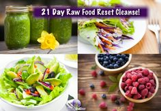 Eating Raw 21 day cleanse