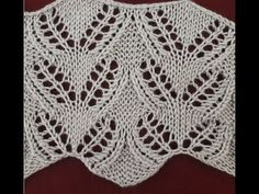 Ajurlu Mısır Piramitleri Örneği - tricot e crochet Lace Knitting, Knitting Stitches, Knit Crochet, Knitting Patterns, Crochet Patterns, Knitting Videos, Crochet Videos, Diy Bags Purses, How To Start Knitting