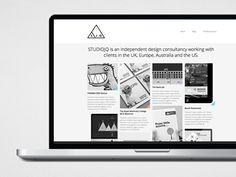 SJQ Portfolio website - August 2012 by Jonathan Quintin