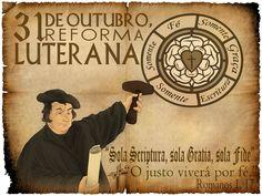 31 de Octubre Día de la Reforma Protestante. El 31 de octubre de 1517, Martín Lutero clavó las 95 tesis en la puerta de la iglesia de Wittenberg en Alemania. Estas tesis de Lutero eran una protesta bíblica contra la venta de las indulgencias, contra la autoridad del papa, el purgatorio, etc. Romanos 1:17 Porque en el evangelio la justicia de Dios se revela por fe y para fe, como está escrito: Mas el justo por la fe vivirá.♔