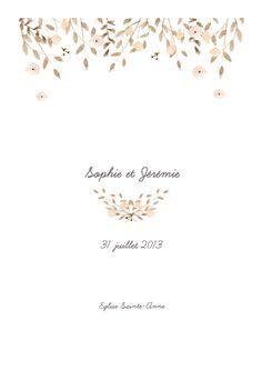 un livret de messe mariage avec des fleurs classique et raffin personnalisez ce modle sur - Exemple De Livret De Messe Mariage