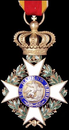 Baden German State Order of Military Merit of Charles Frederick.