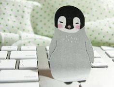 Baby Penguin Sticky Note