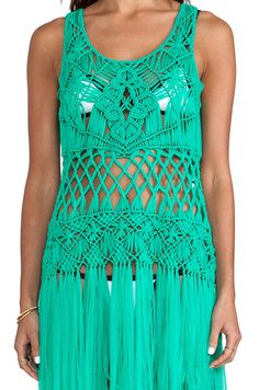25 unique macrame dress ideas on diy macrame Macrame Dress, Macrame Curtain, Macrame Art, Macrame Design, Macrame Tutorial, Macrame Patterns, T Shirt Yarn, Revolve Clothing, Diy Crochet