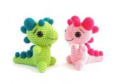 CROCHET PATTERN - Rattle - Baby Dragon - Amigurumi animal - Difficulty: easy - PM-12-001