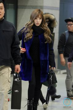 Tiffany Girls' Generation Tiffany, Girls Generation, Snsd Tiffany, Tiffany Hwang, Ulzzang Fashion, Korean Fashion, Korean Celebrities, Celebs, Snsd Airport Fashion