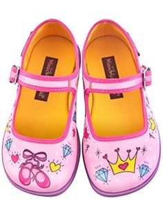 Hot Chocolate Design Mini Chocolaticas Princesa Girls Mary Jane Flat Multicoloured US Size: 7 ❤ ...