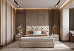 Modern Luxury Bedroom, Luxury Bedroom Design, Master Bedroom Interior, Modern Master Bedroom, Bedroom Furniture Design, Bedroom Layouts, Master Bedroom Design, Contemporary Bedroom, Luxurious Bedrooms