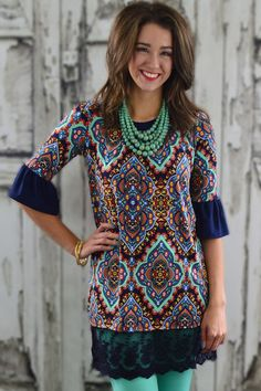 Old World Tunic – The ZigZag Stripe - FREE SHIPPING with code ZZS9
