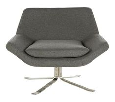 Elle Swivel Lounge Chair - Elle - D-L - Browse By Collections Types Of Furniture, Space Furniture, Bedroom Furniture, Furniture Design, Modern Swivel Chair, Swivel Armchair, Globe West, Indoor Outdoor Furniture, Occasional Chairs