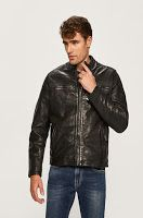 Geaca de piele Dannys • Pepe Jeans Bomber Jacket, Leather Jacket, Jeans, Fashion, Studded Leather Jacket, Moda, Leather Jackets, Fashion Styles, Fashion Illustrations