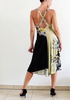 Summer Dress for social dance Argentine Tango by CrinolinAtelier