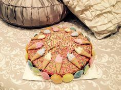Happy Birthday Cake Icecream nectarines candyland