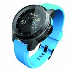 Cookoo SmartWatch, Blue  For the awesome Cookoo Smartwatches make sure you visit: http://www.smartwatchnet.com/product-category/smartwatches/cookoo/  #cookoo #smartwatch #wearables