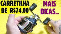 Carretilha de Pesca de Baixo Custo - Mais Dicas [Pescas e Dicas]