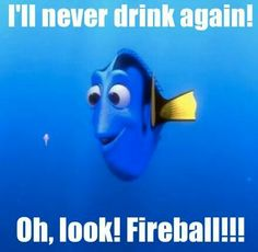 Haha too funny! That fireball gets me, EVERYTIME!!! I'm sure I ain't the only one :)