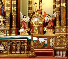 Tabernacle, Cathedral of St. Joseph The Worker, Butuan City, Agusan Del Norte, Philippines.