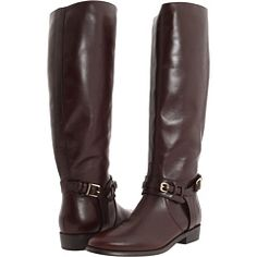 Burberry Bridle Leather Flat Riding Boot, a steal at 49% off! $397.99