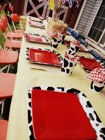 Farm / Barnyard theme plates and cups
