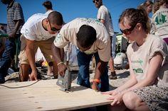 Werk als vrijwilliger mee aan een uniek project waar je mee bouwt aan een buurtcentrum in een township in Zuid-Afrika