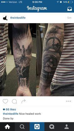 Candle tattoo