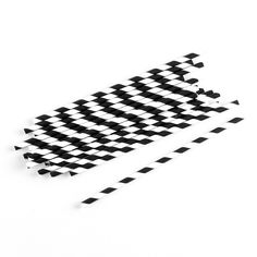 """""""Sippers"""" Candy Striped Paper Straws ( Sold in Packs of 75 )"""