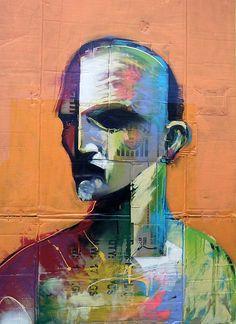ADAM NEATE http://www.widewalls.ch/artist/adam-neate/ #conceptual #art #street #art