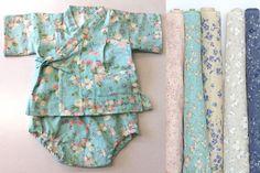 Baby jinbei - use Nani Iro fabric and pattern from my Japanese pattern book.
