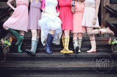 Hilary + Shawn's Perfectly Rainy Lakeside Wedding – Blue Water Farm, Andover NH