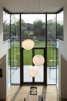 Split-level space | Private house | London SW19 | Giles Pike Architects