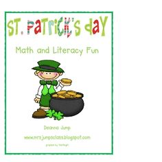 This unit is sure to add lots of fun and learning to your St. Patrick's Day plans.  Included is an adorable Leprechaun glyph that includes patterns...