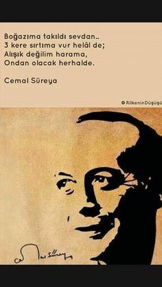 Boğazına takıldı sevdan Cemal Süreya Cool Words, Karma, Sentences, Literature, Poems, Lyrics, Humor, Motivation, Quotes